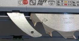 Kreissägeblatt Handkreissäge mit Spaltkeil