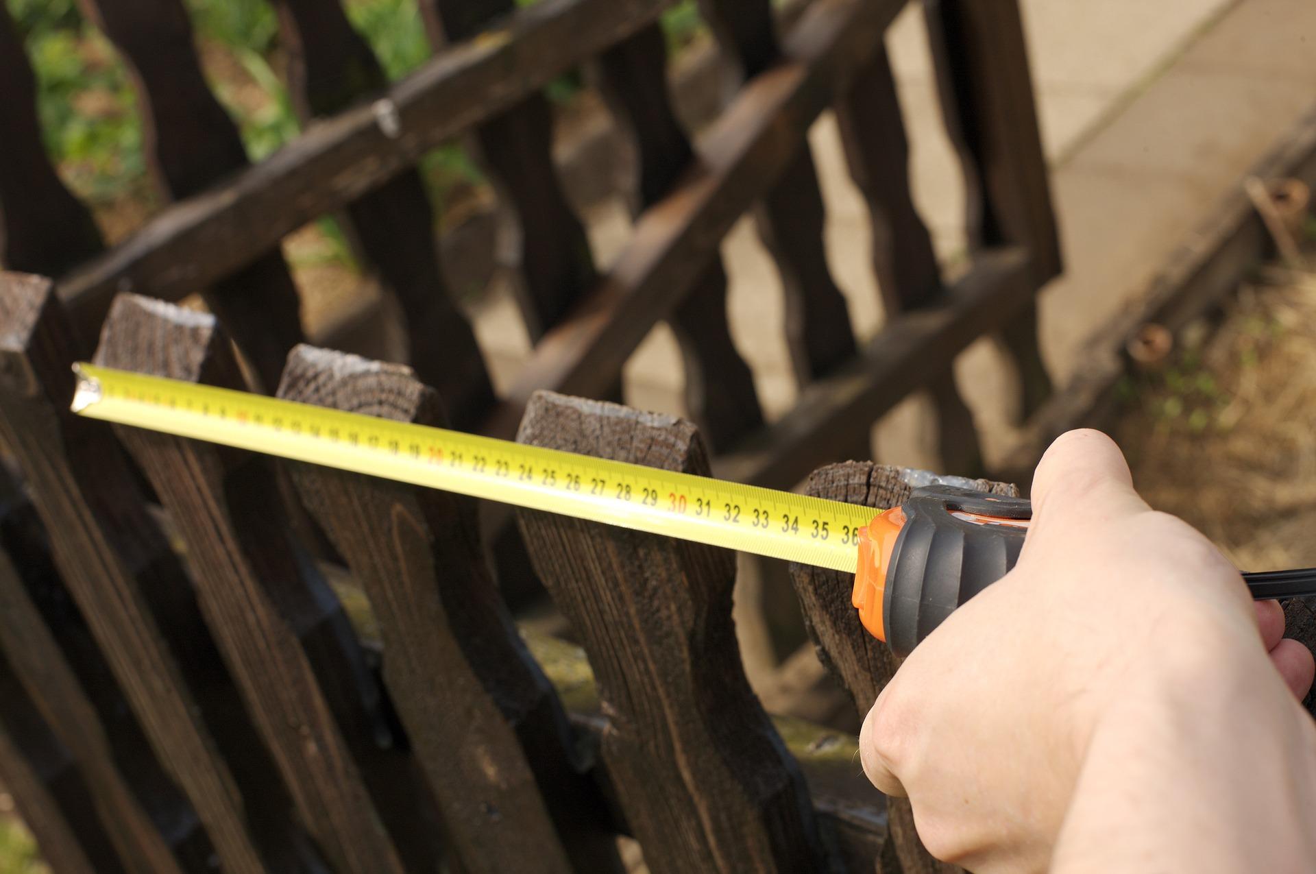Massband messen langer strecken