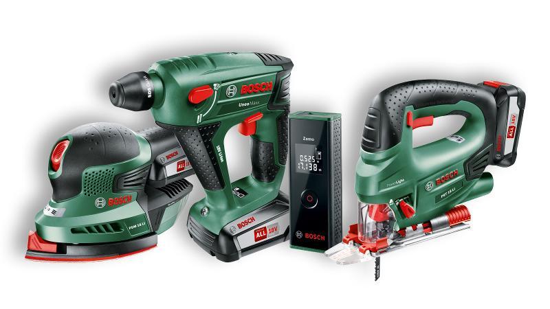 Bosch Elektrowerkzeuge: Akkuschrauber, Stichsäge, Lasermessgerät,  Exenterschleifer